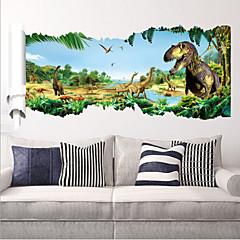 2015 nye zooyoo ® 1460 dinosaurer vegg klistremerker jurassic park hjem dekorasjon