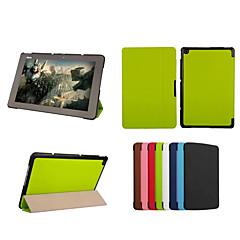 tableta de cuero de la PU de la cubierta dengpin funda protectora con soporte para t100chi Asus Transformer libro t1 chi (colores
