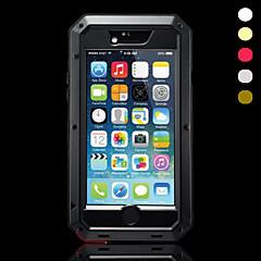 logam tahan air tahan debu kasus shockproof untuk iphone 6