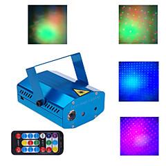 rouge télécommande du projecteur LT vert bleu laser minni
