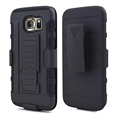 For Samsung Galaxy Case Shockproof / with Stand Case Back Cover Case Armor PC Samsung S6 edge / S6 / S5 / S4 / S3