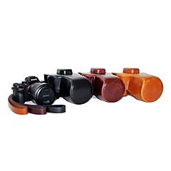 dengpin PU-Leder Öl Haut abnehmbare Kameraabdeckung Case Tasche für Sony ILCE-7rm2 a7ⅱ (verschiedene Farben)