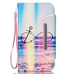 Na Samsung Galaxy Note Etui na karty / Portfel / Z podpórką / Flip Kılıf Futerał Kılıf Krajobraz Skóra PU Samsung Note 3