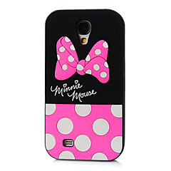 Cute Dot Bowknot Silicone Phone Case for Samsung Galaxy S4  i9500