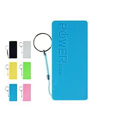 baterai eksternal bank daya universal untuk iphone 6/6 ditambah / 5 / 5s / samsung S4 / S5 / Note2 (berbagai macam warna, 5200 mah)