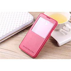 InternatiOnal Version Of The Pu Leather Body Open The Window For Galaxy Note 5/Note 4/Note 3/Note 3 Lite(Assorted Color)