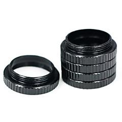 macro noir d'étendre l'anneau de la lentille macro anneau c l'interface