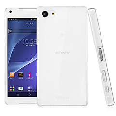 Transparent PC Back Cover Case for Sony Xperia Z5 Compact