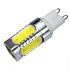 5 pcs G9 10 W 5 COB 900 LM Warm White / Cool White MR11 Decorative Bi-pin Lights AC 100-240 V