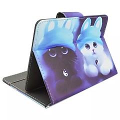 verniciato caso tablet pc staffa per il Galaxy Tab 2 10.1 / 10.1 scheda 3 / scheda 4 10.1 / scheda e 9.6 / pro 10.1 / 9.7 / scheda scheda