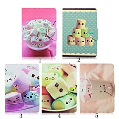 Candy Pattern High Quality PU Leather with Stand Case for 7 Inch Universal Tablet