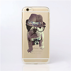 For iPhone 6 Case / iPhone 6 Plus Case Transparent / Pattern Case Back Cover Case Dog Soft TPU iPhone 6s Plus/6 Plus / iPhone 6s/6