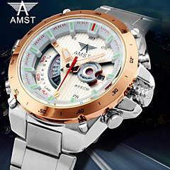 marque bande quartz en acier de luxe montres numériques des hommes plongent montre de sport militaire
