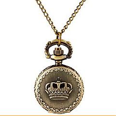 Damskie Zegarek kieszonkowy Zegarek na naszyjniku Kwarcowy Stop Pasmo Postarzane