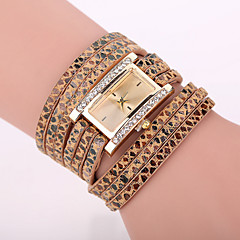Xu™ Women's Leopard Grain Square Bracelet Quartz Watch Cool Watches Unique Watches