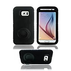 luksus Lord of the Rings stil telefon shell stativdækslet Taske til Samsung Galaxy s6 kant / s6 / S5 / s4 (assorteret farve)