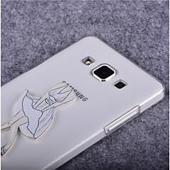 Mert Samsung Galaxy tok Átlátszó Case Hátlap Case Szexi lány PC SamsungYoung 2 / Trend Lite / Trend Duos / J7 / J5 / J1 / Grand Prime /