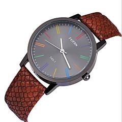 Men's Leather Band Japan Quartz Wrist Watch(Assorted Colors)