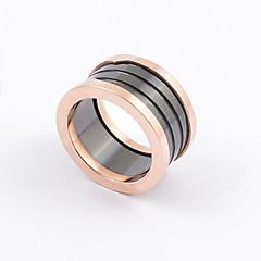Fashion Men's  Ceramic Spring Titanium Steel Rings