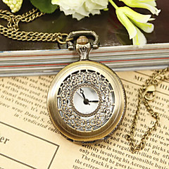 Woman Quartz Carving Pocket Watch Cool Watches Unique Watches