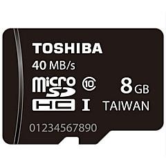 원래 도시바 8 기가 바이트 CLASS10의 40m / s의 고속 메모리 카드
