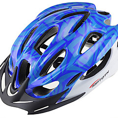 Bjerg - Unisex - Cykling / Bjerg Cykling - Hjelm ( Rød / Sort / Blå , PC / EPS ) 18 Ventiler