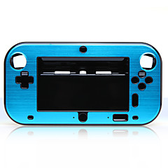 Protective Plastic + Aluminum Alloy Cover Case for Wii U GamePad