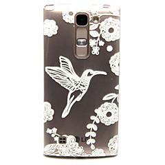 Mert LG tok Átlátszó Case Hátlap Case Állat Puha TPU LG LG Spirit / LG C70 H422