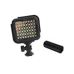 cn-lux480 48 leds videolys bilder lampe for canon nikon kamera videokamera 5600K / 3200K med metallhåndtak