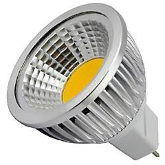 5W GU5.3(MR16) LED Spot Lampen MR16 1 COB 400LM lm Warmes Weiß / Kühles Weiß Dekorativ DC 12 V 1 Stück