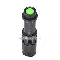 LT LED Lommelygter LED 2200 Lumens 5 Tilstand Cree XM-L T6 18650Vanntett / Genopladelig / Nedslags Resistent / Strike Bezel / Taktisk /