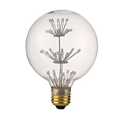 3W LED-globepærer G80 47 DIP LED 150 lm Varm hvid V 1 stk.