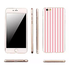 For iPhone 6 etui iPhone 6 Plus etui Ultratyndt Mønster Etui Bagcover Etui Linjeret / bølget Blødt TPU foriPhone 7 Plus iPhone 7 iPhone