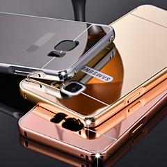 побрякушки металл алюминиевого сплава зеркало акрилового пластика задняя крышка случай для Samsung записку 2/3/4/5