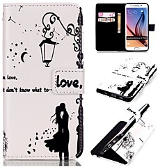 For Samsung Galaxy Case Wallet / Card Holder / with Stand / Flip Case Full Body Case Cartoon PU Leather SamsungS6 edge plus / S6 edge /