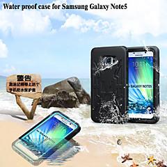 sandproof impermeável à prova de choque natação caso de capa protetor para Samsung Galaxy Nota 5