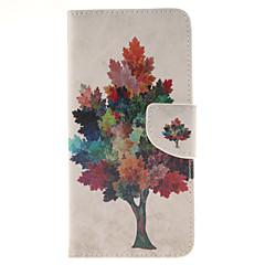 Για Samsung Galaxy Note Πορτοφόλι / Θήκη καρτών / με βάση στήριξης / Ανοιγόμενη tok Πλήρης κάλυψη tok Δέντρο Συνθετικό δέρμα SamsungNote