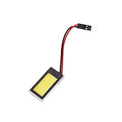 YOBO Festoon 41/39/36/31MM/T10 COB 6W 180-200LM 7000-7500K White Light for Car Reading Lamp(DC 12V)