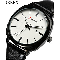 Curren Fashion Men Leather Band Quartz With Calendar Watch Wrist Watch Cool Watch Unique Watch