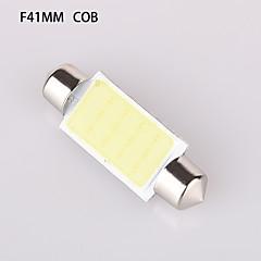 yobo festão 41/39 / 36/31 milímetros-1d cob 250-280lm 6500-7000k luz branca para a placa de licença de carro luz / lâmpada de leitura (DC