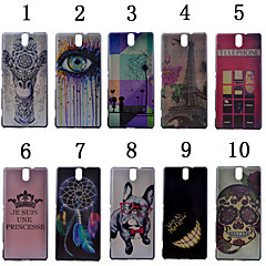 For Sony Case Pattern Case Back Cover Case Other Hard PC for Sony Sony Xperia C5 Ultra