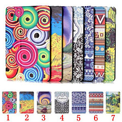 7 Inch Coloured Drawing Pattern PU Leather Case with Magnetic Buckle for Amazon new fire 7 (2015)(Assorted Colors)