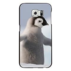 der Pinguin-Muster PC harter Kasten für Samsung-Galaxie s6