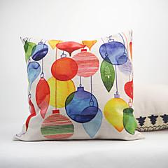 Bawełna / Bielizna / Cotton / Linen Pokrywa Pillow / Poduszka-Nowość / Poszewka na poduszkę ,Kwiatowy / Nowość / Textured / Geometryczny