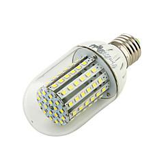 9W E26/E27 LEDコーン型電球 T 90 SMD 3528 800 lm 温白色 / クールホワイト 装飾用 DC 12 V 1個