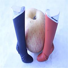 chaussures à talons hauts de femmes créatives légers pantoufles de couleur briquets jouets