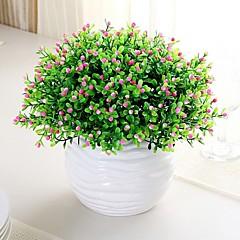 Plastikk Planter Kunstige blomster