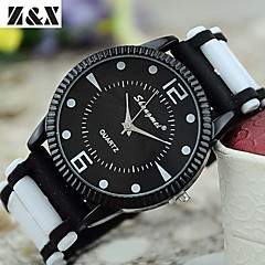 Men's Fashion Personality Quartz Analog Silicone Watch(Assorted Colors) Cool Watch Unique Watch