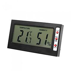 메모리 섭씨 화씨 분 디지털 LCD C는 / F 온도계 습도계 최대