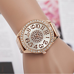 Woman Swiss Quartz Alloy Diamond Wrist Watch Cool Watches Unique Watches